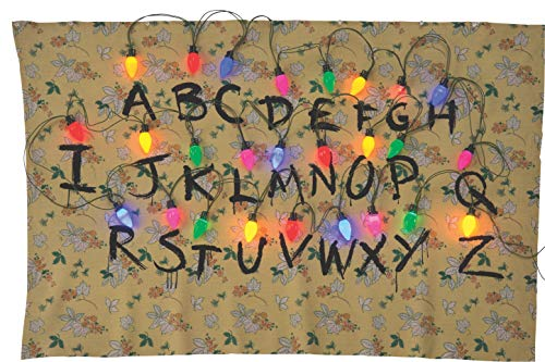 Rubie's 200145_NS Stranger Things Alphabet Tapestry Party Supplies, 68 x 46, Multicolor (Party Christmas Abc Costumes)