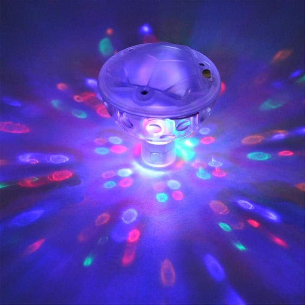 Schwimmendes Licht Whirlpool Spa Lampenteich Unterwasserleuchten f/ür Springbrunnen Schwimmbad Party Teich Dekoration