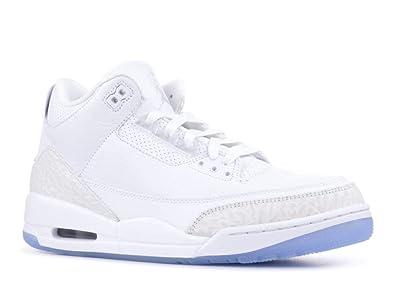 8ad01852fa6c Nike Jordan Retro 3 quot Triple White White White-White (14 ...