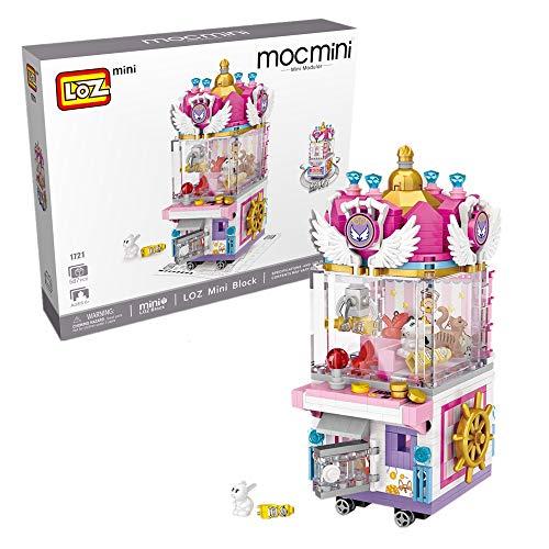 LOZ Building Block Amusement Park Mini Handmade Kit,Construction Toy  Birthday Gift Kid Adult (Doll Machine)
