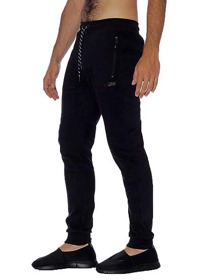FREDDY - Pantalon de sport - Homme taille unique - noir - Medium ... 1a2f0119729