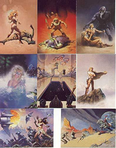 [해외]L. Ron Hubbard More Than Battlefield Earth Complete 90 Fantasy Art Trading Card Set COMIC IMAGES 1995 / L. Ron Hubbard More Than Battlefield Earth Complete 90 Fantasy Art Trading Card Set COMIC IMAGES 1995