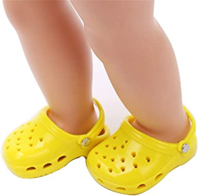 Lovely Slipper Shoes For 18inch AG American Doll Doll Clothes Dress Up Love