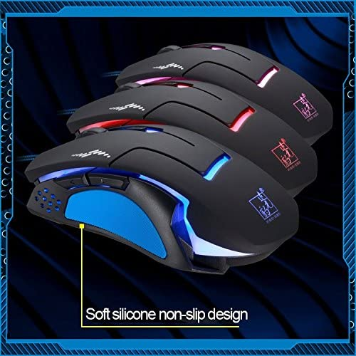 3 Color Changeable 1200 DPI 1600DPI 2400DPI Gaming USB Optical Mouse