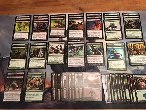 Black Green Infect Deck - Modern Legal - Custom Built - Magic The Gathering - MTG - 60 Card