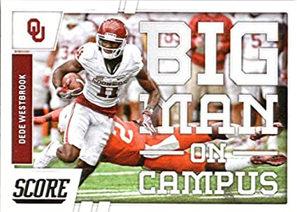 43968ff69 2017 Score Big Man on Campus  3 Dede Westbrook Oklahoma Sooners Football  Card