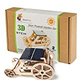 DIY Wooden Model Solar Car Kits to Build - Science Experiment Projects for Kids and Teens - STEM Toys for Boys and Girls - Inventor Kit: Tinker with Engineering, Robotics, Puzzles, Arts and Crafts