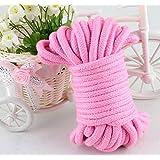 Moonight 32-foot 10m Long soft Silk Rope-Pink Japanese Rope