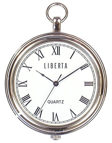 【 LIBERTA 】 르 타 남성용 포켓 워치 LI-042BR (일본 제품) / Liberta: Liberta Men`s Pocket Watch LI-042BR (Made in Japan)