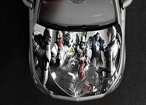 (Superheroes Batman Full Color Sticker Car Hood Vinyl, Car Vinyl Graphics gc 2089)