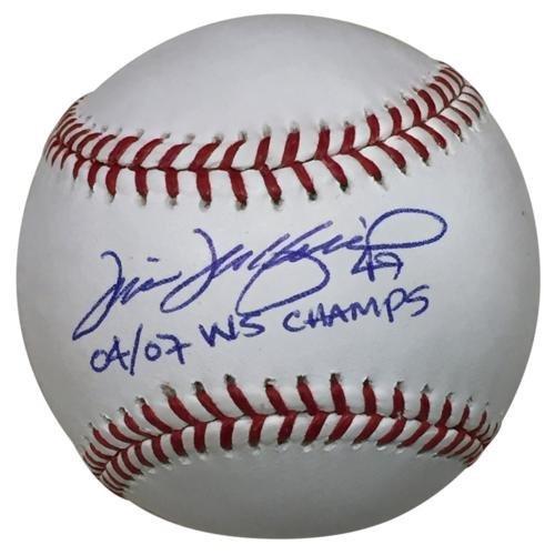 - Tim Wakefield Autographed MLB Baseball w/