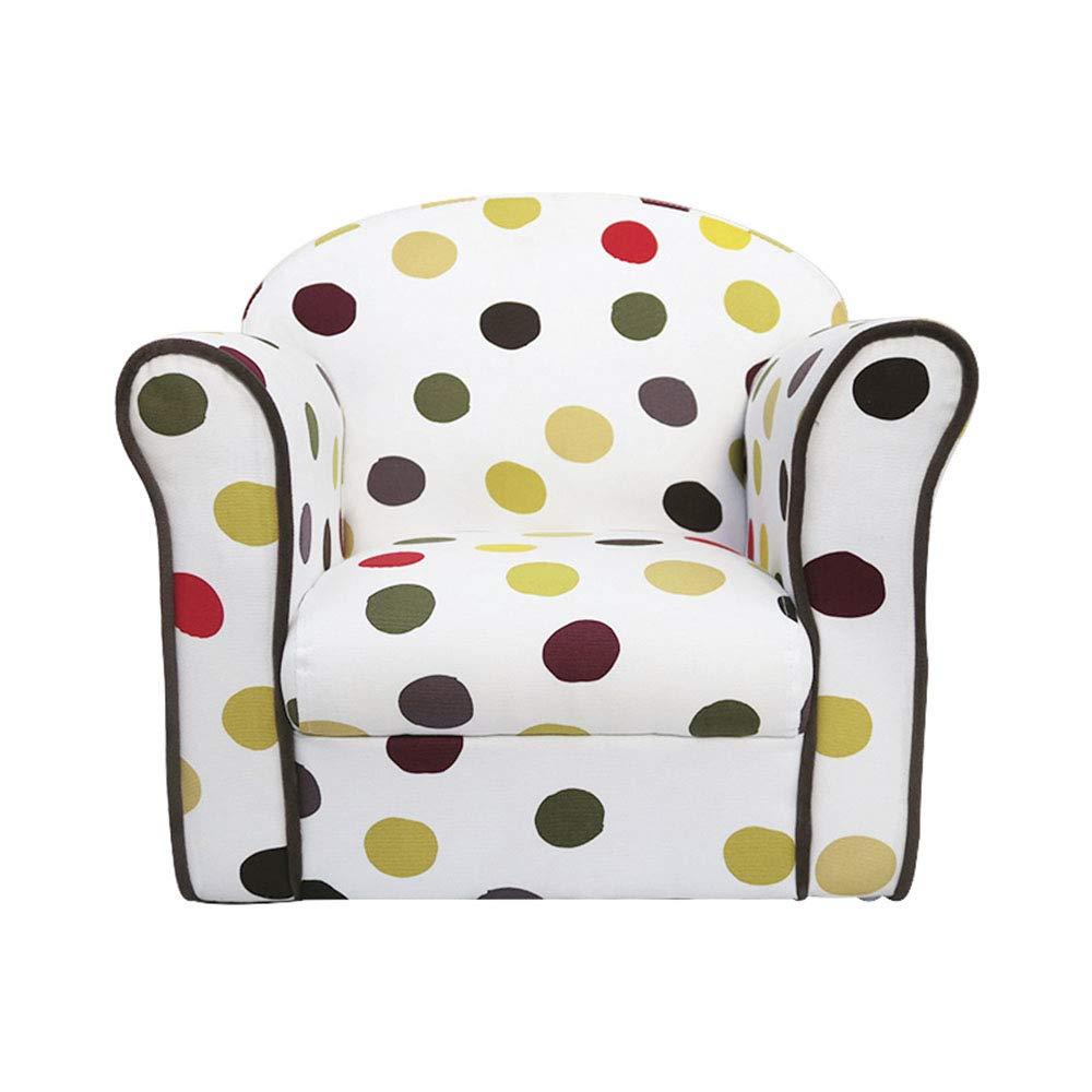primera vez respuesta B Silla Sofá para niños, con con con reposabrazos Marco de Madera Cultive la Postura Correcta para Sentarse para la habitación de los niños Sala de EEstrella 3 Colors (Color   B)  diseño simple y generoso