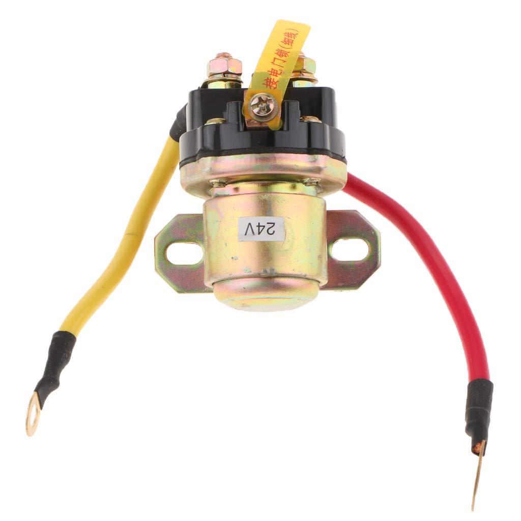 Homyl Isolateur de Batterie de Relais de Puissance 150A 24V