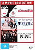 Burlesque / Mamma Mia! / Nine DVD