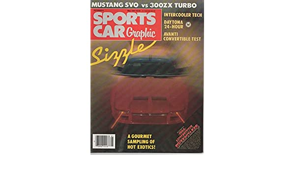 Sports Car Graphic Magazine, January 1984 (Vol 2, No 5): Debbie Feder, Marilee Bowles, Dutch Mandel, Craig Caldwell: Amazon.com: Books