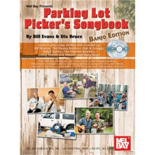 Mel Bay Parking Lot Picker's Songbook for Banjo (Book and CD)