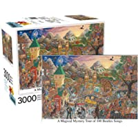 A Magical Mystery Tour of 100 Beatles Songs Puzzle, 3000 Piece