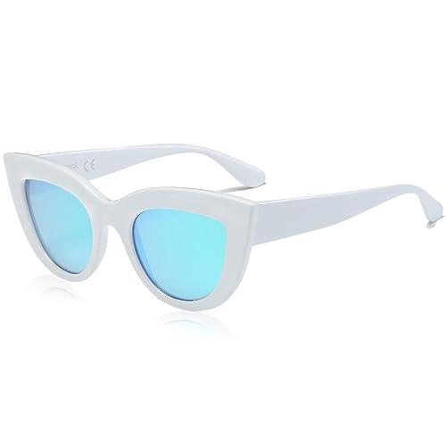SojoS Art und Weiseklassische Berühmtheits mutige starke Damen Katzenaugen Sonnenbrille SJ2939