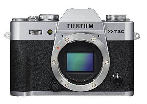 Fujifilm X-T20 Mirrorless Digital Camera - Silver (Body Only) (Renewed)