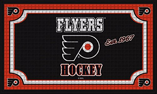 fan products of Team Sports America Philadelphia Flyers Embossed Floor Mat, 18 x 30 inches