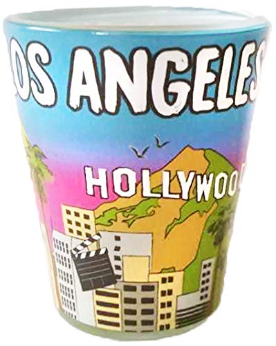 Los Angeles California Designer Shot Glass of the beautiful valley and California Landscape