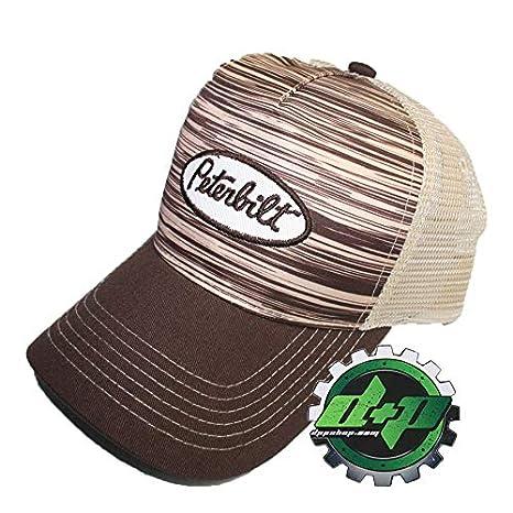 Amazon.com   Peterbilt Trucks Wood Grain Mesh Hat Base Ball Trucker ... 05c58aa56ae