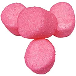 Sugared Marshmallows Pink 1 Pounds 50 Pieces FRESH-Pink Candy