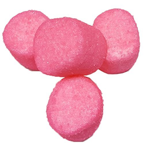 Sugared Marshmallows Pink 1 Pounds 50 Pieces FRESH-Pink (Pink Marshmallows)
