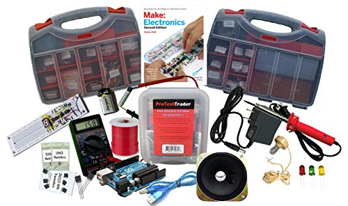 Ultimate Make: Electronics Kit Bundle - Includes All 3 Electronic Component Kits and Make: Electronics (2nd ED) Book by Charles Platt - STEM Electronics Science Education Set for Beginners Teen-Adult by ProTechTrader (Image #9)