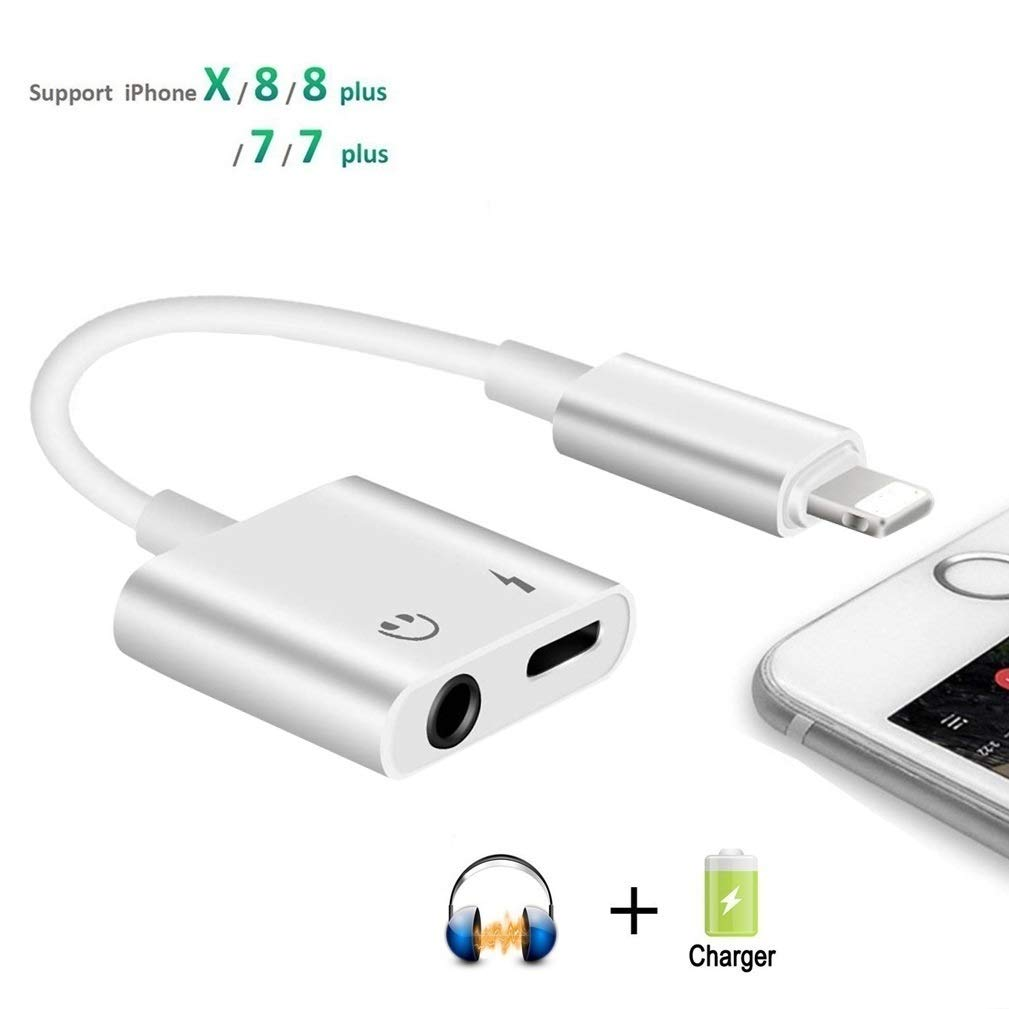 Amazon.com: Adaptador para auriculares de 0.138 in, 2 en 1 ...