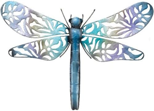Wall Decor Silvery Lace Dragonfly Blue 21×14 – Regal Art A579
