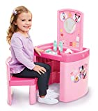 Minnie Mouse Happy Helpers Pretend N' Play Activity Table Set with One Chair, Pink