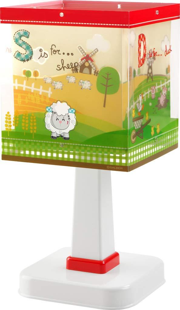 Dalber-Lampada da comodino, collezione:My Little Farm [Classe di efficienza energetica A]