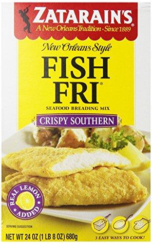 ZATARAIN'S Crispy Seasoned Fish Fri, 24-Ounce (Pack of 6) by Zatarain's