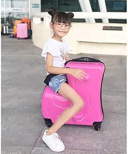 Red 16 Inch XFRJYKJ-Luggage box Chassis Business Trolley Case Small Suitcase Mini Suitcase