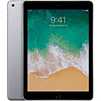 Apple iPad (5th Generation) Wi-Fi, 128GB - Space Gray (Certified Refurbished)