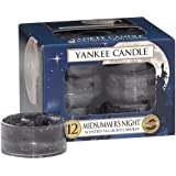 Yankee Candle Midsummer's Night Tea Light Candles, Fresh Scent