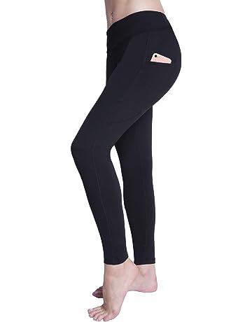 a157c4eade165 Raypose High Waist Tummy Control Capri Yoga Pants Pocket for Women Workout  Running Capris Leggings