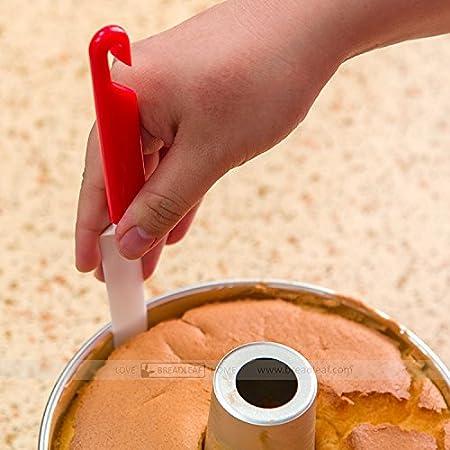 Amazon.com: Astra Gourmet 1pc de plástico pastel raspador ...