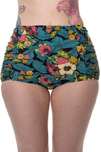 Banned-Twilight-Womens-High-Waisted-Vintage-Retro-Bikini-Bottoms