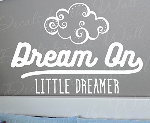 dream-on-little-dreamer-above-and-beyond-perry-como-song-lyrics-kids-boy-girl-baby-nursery-wall-deca