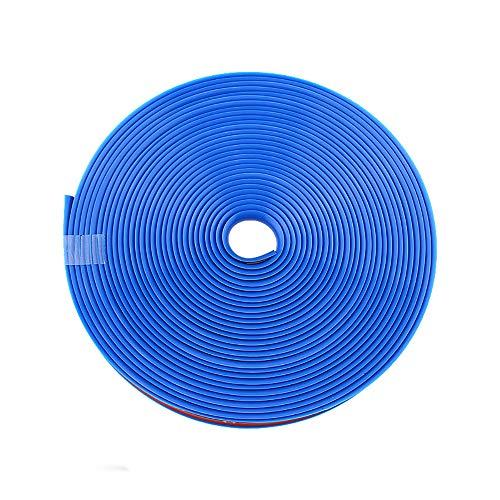 Edge Rim (Mladen Alloy Wheel Rim Protector Wheel Hub Decorative Strip Tire Protection Sticker (Blue))