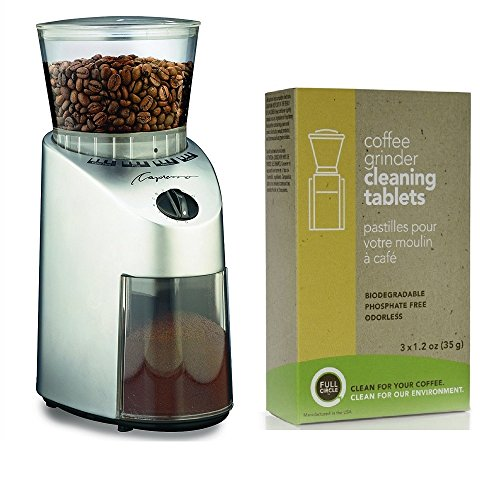 Capresso 560.04 Infinity Conical Burr Coffee Grinder Kit