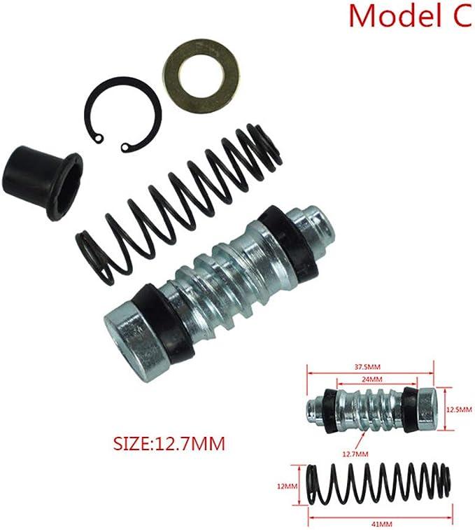 SDENSHI Motorrad 10mm Vorderkupplung Bremspumpe Hauptbremszylinder Kolben Reparaturs/ätze