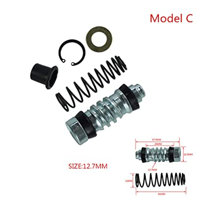 Amazon.com: 1Set Motorcycle Clutch Brake Pump 14mm 12.7mm 11mm Piston Plunger Repair Kits Master Cylinder Rigs Repair Fit Motocross/Scooter (Size : Model ...