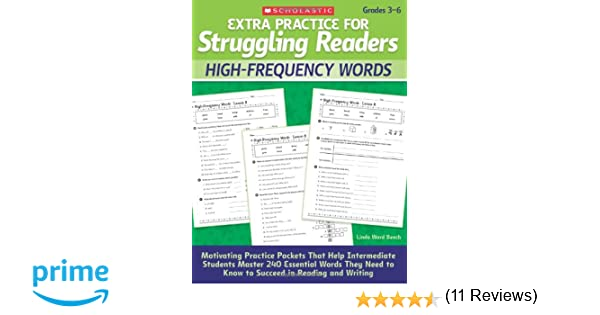 Workbook free high school reading comprehension worksheets : Amazon.com: Extra Practice for Struggling Readers: High-Frequency ...