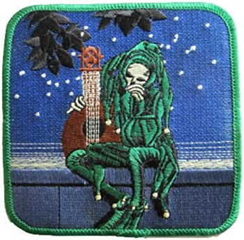 Grateful Dead Cyclops 3 Inch Iron On Patch