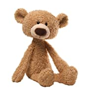 GUND Toothpick Teddy Bear Stuffed Animal Plush, Beige, 15