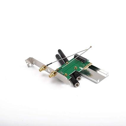 LouiseEvel215 802.11n Mini Wireless WiFi PCI-E A Mini PCI ...