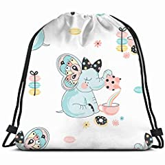Material: 100% Polyester.Dimensions: 43 X 36cm / 17 X 14 Inch (L X H), One Side Printing.Durable Microfiber Makes This Hard Wearing Backpack A Go To Option For Any Outing. It's Spacious Enough To Fit A Towel And Sunscreen In For A Cute Beach ...
